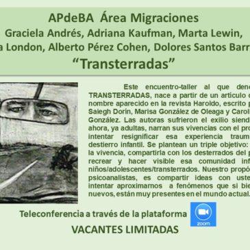 Jueves 11 de junio – APdeBA Área Migraciones – Inscríbase aquí