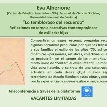 Jueves 25 de junio: Eva Alberione