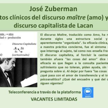 Jueves 2 de julio: José Zuberman