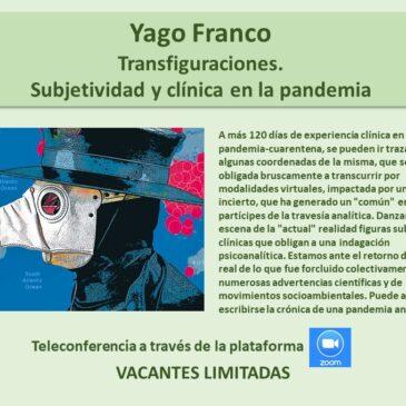 Jueves 6 de agosto: Yago Franco
