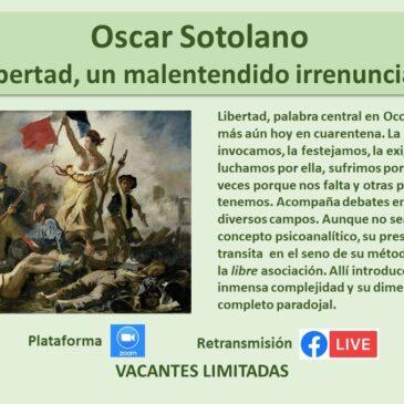 Jueves 13 de agosto: Oscar Sotolano