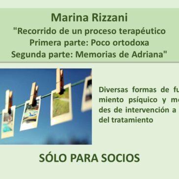 Jueves 3 de septiembre: Marina Rizzani