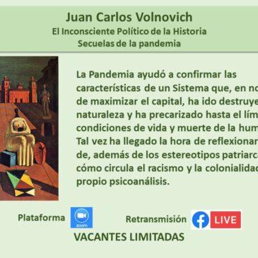 Jueves 15 de octubre – Juan Carlos Volnovich
