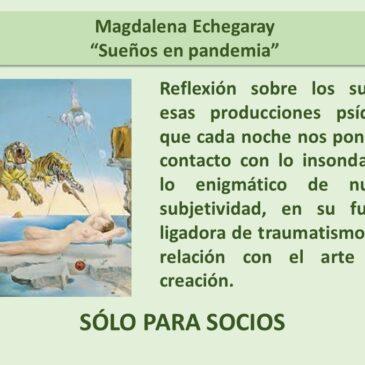 Jueves 19 de noviembre – Magdalena Echegaray