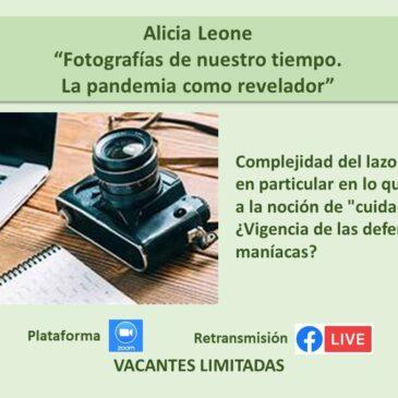 Jueves 26 de noviembre – Alicia Leone