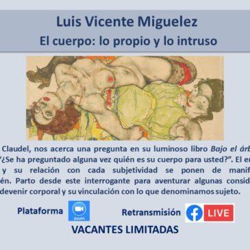 Jueves 8 de abril – Luis Vicente Miguelez