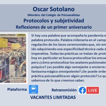 Jueves 18 de marzo – Oscar Sotolano