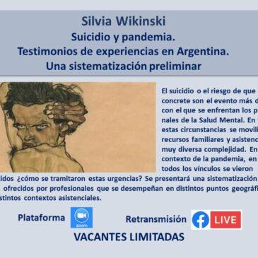 Jueves 22 de abril – Silvia Wikinski