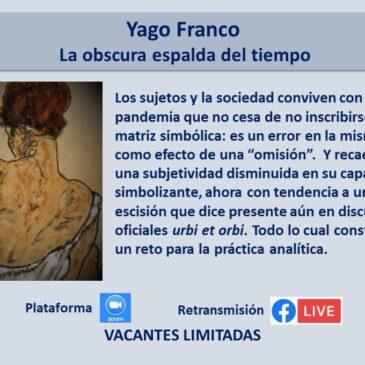 Jueves 3 de junio – Yago Franco