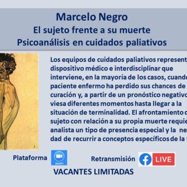 Jueves 17 de junio – Marcelo Negro
