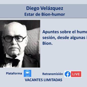 Jueves 8 de julio – Diego Velázquez