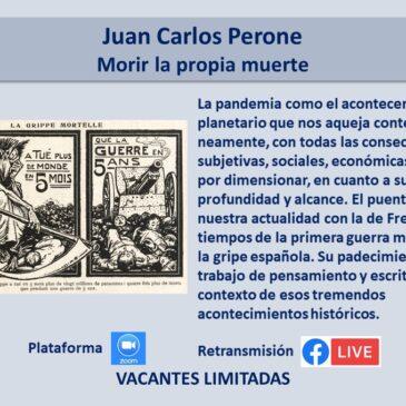 Jueves 9 de septiembre – Juan Carlos Perone