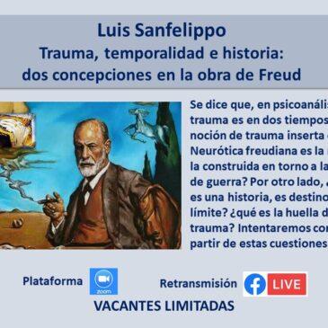 Jueves 16 de septiembre – Luis Sanfelippo