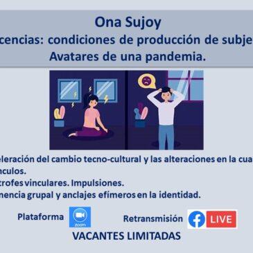 Jueves 2 de septiembre – Ona Sujoy