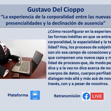 Jueves 14 de octubre – Gustavo Del Cioppo
